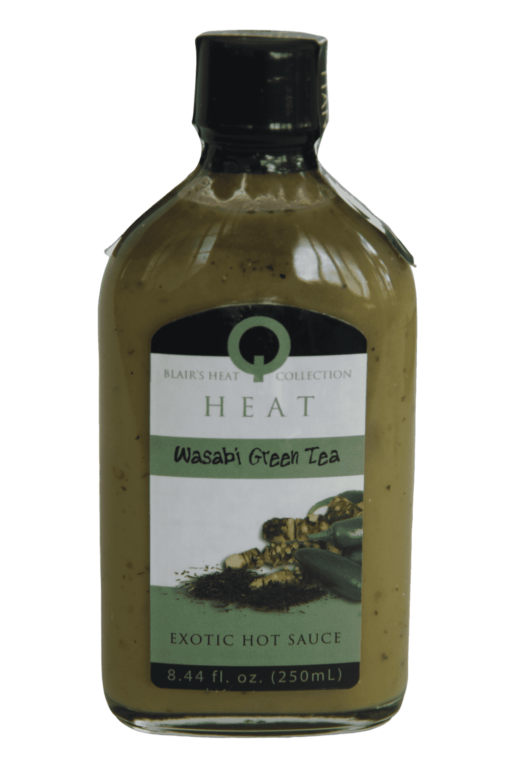 Blair's Q Heat Wasabi Green Tea Hot Sauce