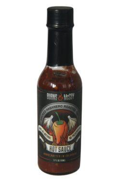 Burns & McCoy Smoked Habanero Roasted Garlic Hot Sauce