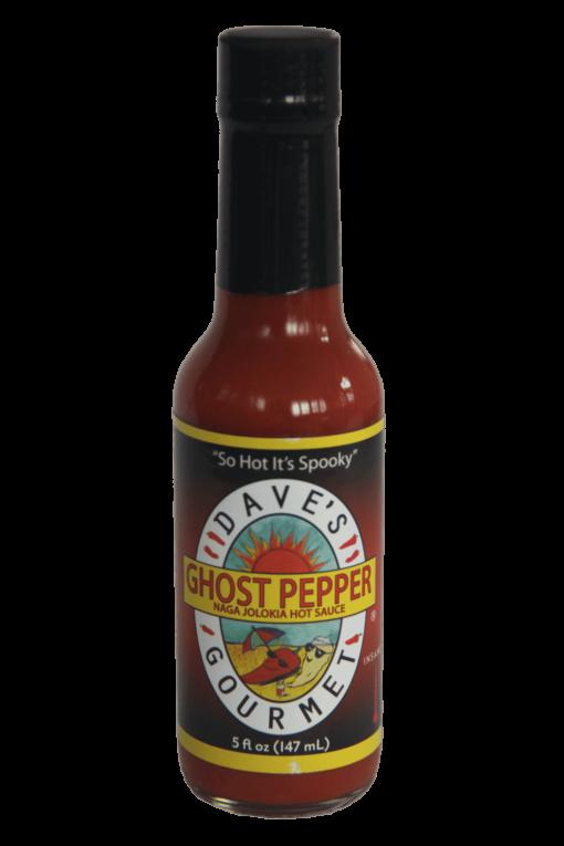 Dave's Gourmet Ghost Pepper Naga Jolokia Hot Sauce