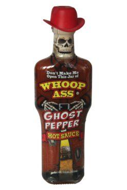Whoop Ass Ghost Pepper Hot Sauce 177ml