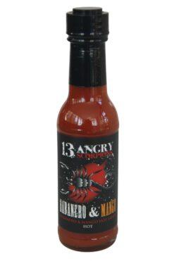 13 Angry Scorpions Habanero & Mango Hot Sauce 150ml