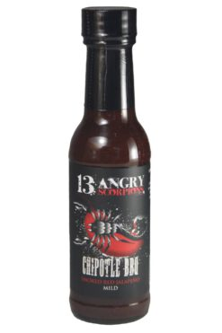 13 Angry Scorpions Red Jalapeno Chipotle BBQ Sauce