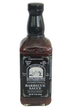 Historic Lynchburg Hot & Spicy Tennessee Whiskey Barbecue Sauce 454g