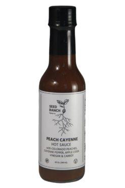 Seed Ranch Flavor Co. Peach Cayenne Hot Sauce 148ml